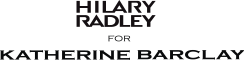 Hilary Radley for Katherine Barclay Logo